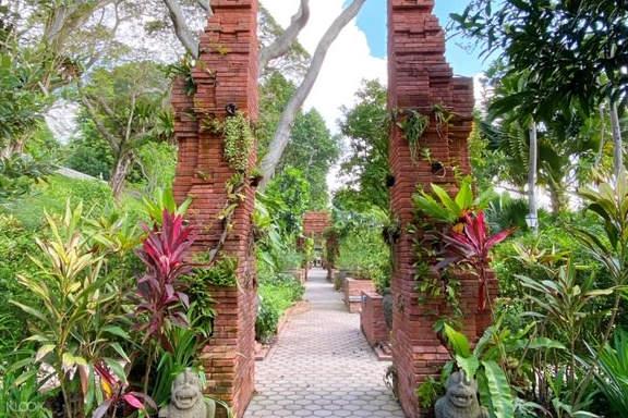 The Sang Nila Utama Garden entrance in Fort Canning Park
